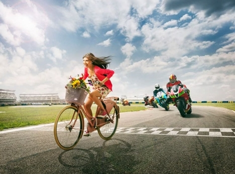 Making of Cosmote Visual - Moto GP