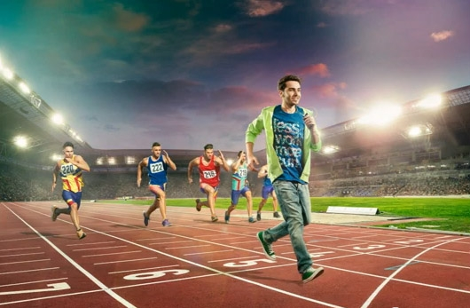 Making of Cosmote visual- Athletism